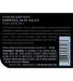 2017 Sterling Vineyards Carneros Pinot Noir Back Label, image 2