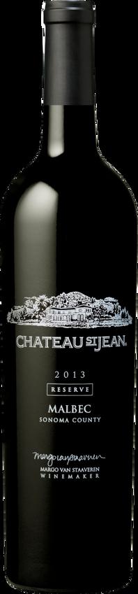 2013 Chateau St. Jean Sonoma County Reserve Malbec