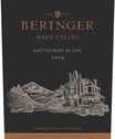 2019 Beringer Winery Exclusive Napa Valley Sauvignon Blanc Front Label, image 2