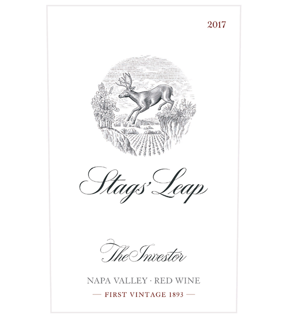 2017 Stags' Leap The Investor Napa Valley Red Blend Front Label