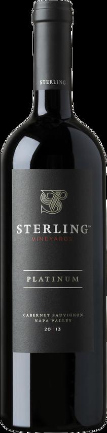 Sterling 2013 Platinum Cabernet Sauvignon Magnum Bottle Shot