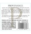 2014 Provenance Vineyards Winemakers Reserve Napa Valley Red Blend Back Label