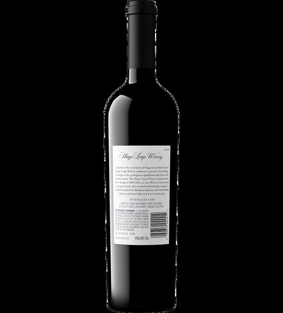 2018 Stags' Leap Napa Valley Merlot Bottle Shot Back Label