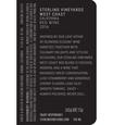 2016 Sterling Vineyards Vintner's Collection California West Coast Red Blend Back Label