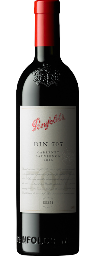 2016 Penfolds Bin 707 Cabernet Sauvignon Bottle