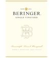 2015 Beringer Bancroft Ranch Howell Mountain Merlot Front Label