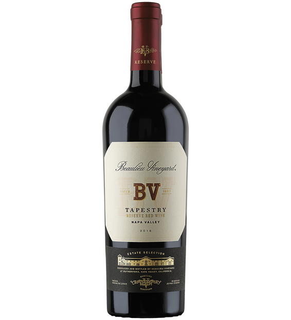 2016 Beaulieu Vineyard Tapestry Reserve Red Blend Bottle Shot