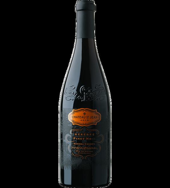 2018 Chateau St. Jean Reserve Sonoma County Pinot Noir Bottle Shot