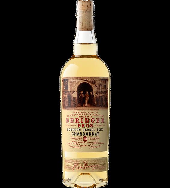 2019 Beringer Brothers Bourbon Barrel Aged Chardonnay California Bottle Shot