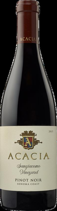 2015 Acacia Sangiacomo Vineyard Sonoma Coast Pinot Noir Bottle Shot