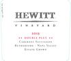 2015 Hewitt Double Plus Cabernet Sauvignon