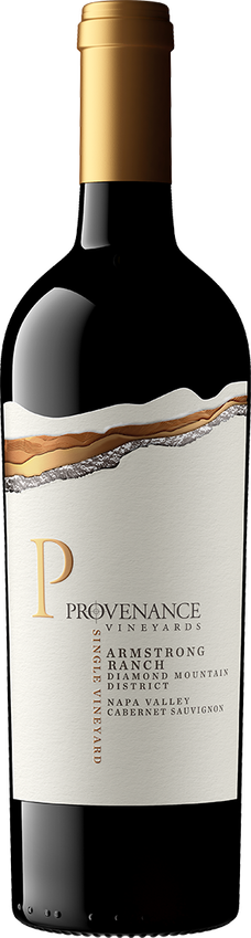 2015 Provenance Armstrong Ranch Vineyard Diamond Mountain Napa Valley Cabernet Sauvignon