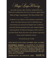 2015 Stags' Leap Audentia Estate Grown Napa Valley Cabernet Sauvignon Back Label, image 3