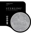 2014 Sterling Vineyards Sonoma County Zinfandel Front Label