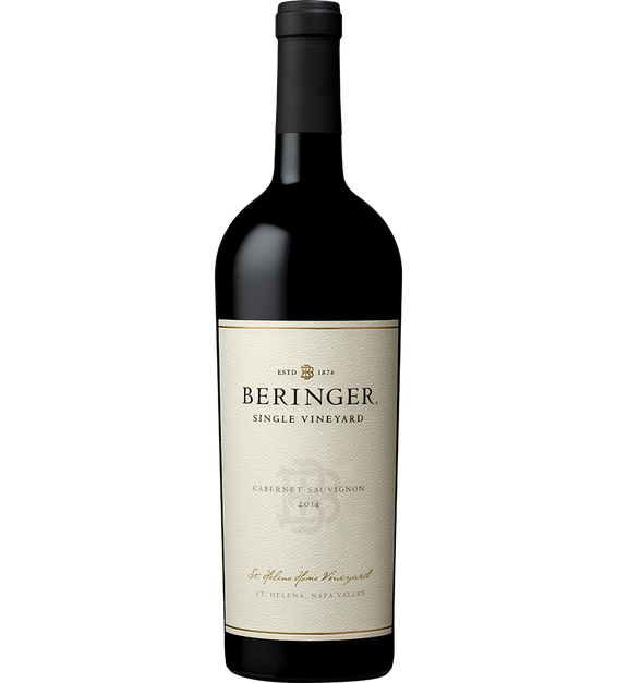 2014 Beringer Saint Helena Home Vineyard Saint Helena Cabernet Sauvignon