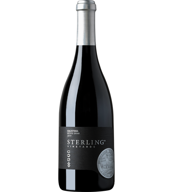 2017 Sterling Vineyards Calistoga Petite Sirah