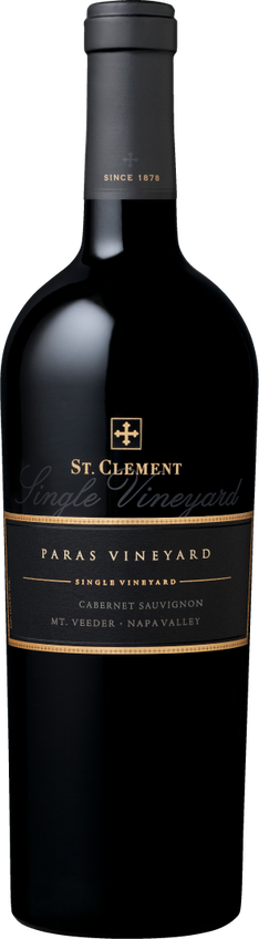 2014 St. Clement Paras Vineyard Mt. Veeder Napa Valley Cabernet Sauvignon