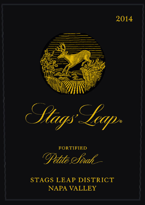 Stags' Leap Winery Fortified Petite Sirah 375 ml Front Label