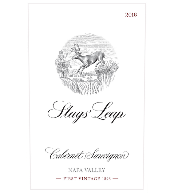 2016 Stags' Leap Napa Valley Cabernet Sauvignon Front Label