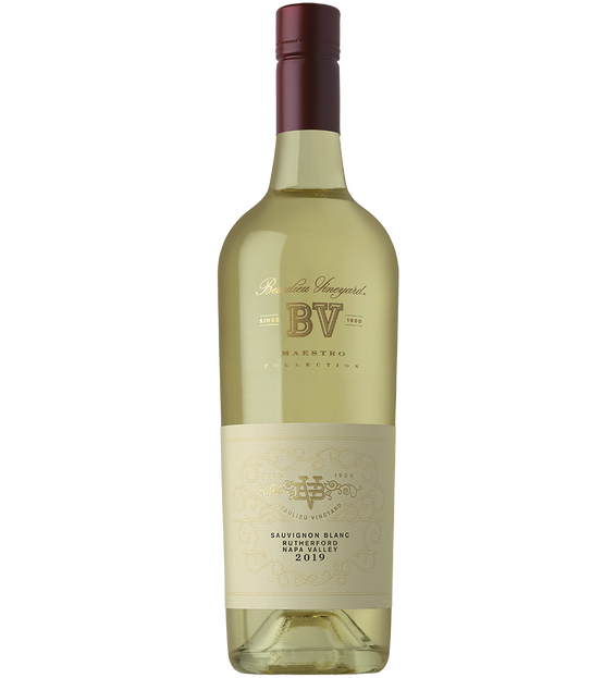 2019 Beaulieu Vineyard Maestro Rutherford Sauvignon Blanc Bottle Shot