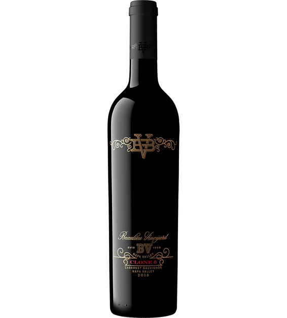 2018 Beaulieu Vineyard Clone 6 Napa Valley Cabernet Sauvignon Bottle Shot