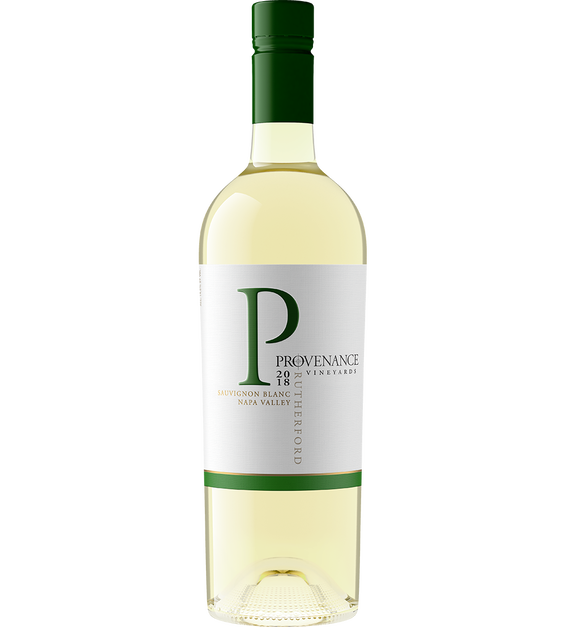 2018 Provenance Vineyards Rutherford Sauvignon Blanc Back Label