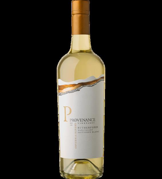 2018 Provenance Vineyards Estate Rutherford Sauvignon Blanc Back Label