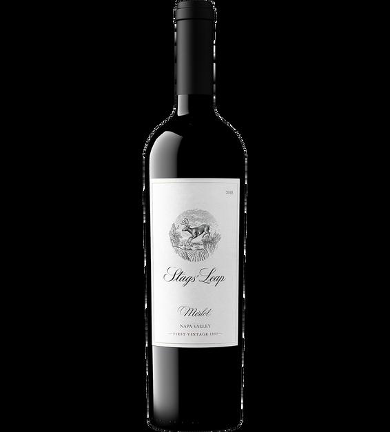 2018 Stags' Leap Napa Valley Merlot Bottle Shot