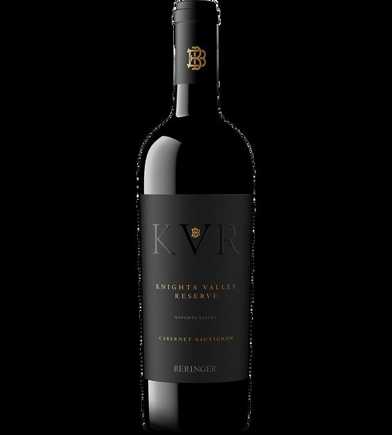 2018 Beringer Knights Valley Reserve Sonoma County Cabernet Sauvignon Bottle Shot