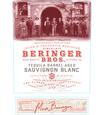 2017 Beringer Brothers Tequila Barrel Aged Sauvignon Blanc Front Label, image 3