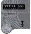 2016 Sterling Vineyards Vintner's Collection California West Coast Red Blend Front Label