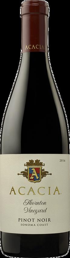 2016 Acacia Thornton Vineyard Sonoma Coast Pinot Noir Bottle Shot