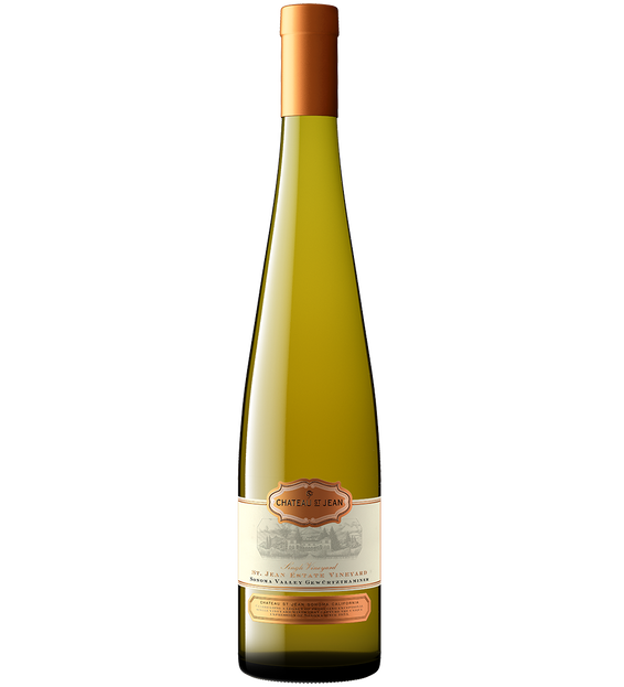 2019 Chateau St. Jean Sonoma Valley Gewürztraminer Bottle Shot