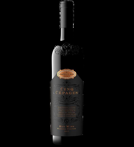 201 Chateau St Jean Cinq Cepages Bottle Shot