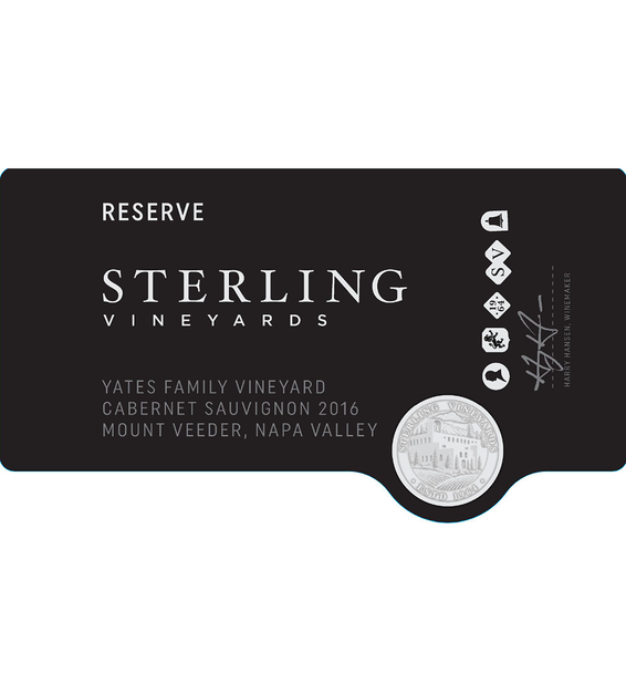 2016 Sterling Vineyards Cellar Club Winemakers Select Napa Valley White Blend Front Label