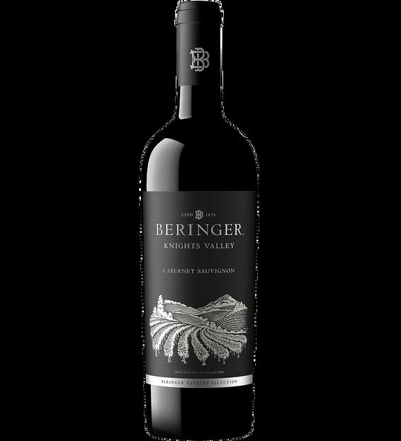 2018 Beringer Knights Valley Cabernet Sauvignon Magnum Bottle Shot