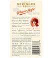 2017 Beringer Whisper Sisters Cabernet Sauvignon Back Label, image 2