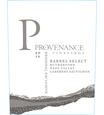 2016 Provenance Vineyards Barrel Select Rutherford Cabernet Sauvignon Front Label