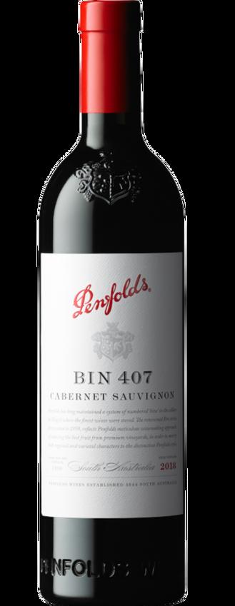 2018 Penfolds Bin 407 Cabernet Sauvignon Bottle