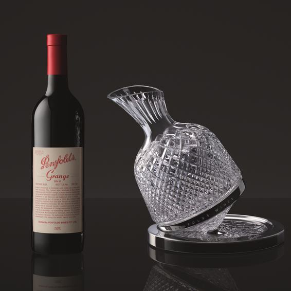 2012 Penfolds Grange with St Louis Decanter Beauty