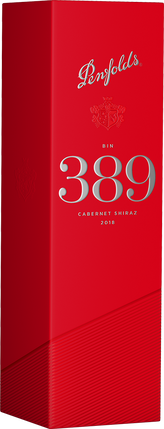 2018 Bin 389 Cabernet Shiraz with Gift Box