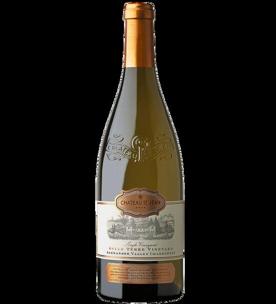 2018 Chateau St. Jean Belle Terre Vineyard Alexander Valley Chardonnay Bottle Shot