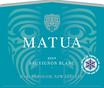 2019 Matua Marlborough Sauvignon Blanc Front Label, image 2