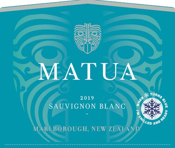 2019 Matua Marlborough Sauvignon Blanc Front Label