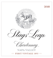 2018 Stags' Leap Napa Valley Sauvignon Blanc Front Label
