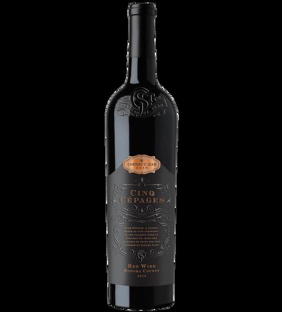 2016 Chateau St. Jean Cinq Cepages Bottle