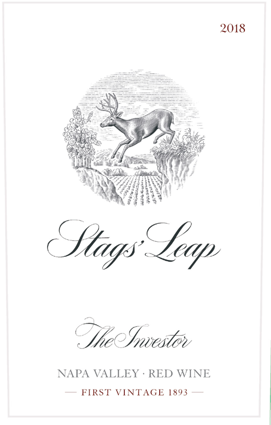 2018 Stags' Leap The Investor Red Wine Napa Valley Front Label