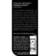 2014 Sterling Vineyards Sonoma County Zinfandel Back Label