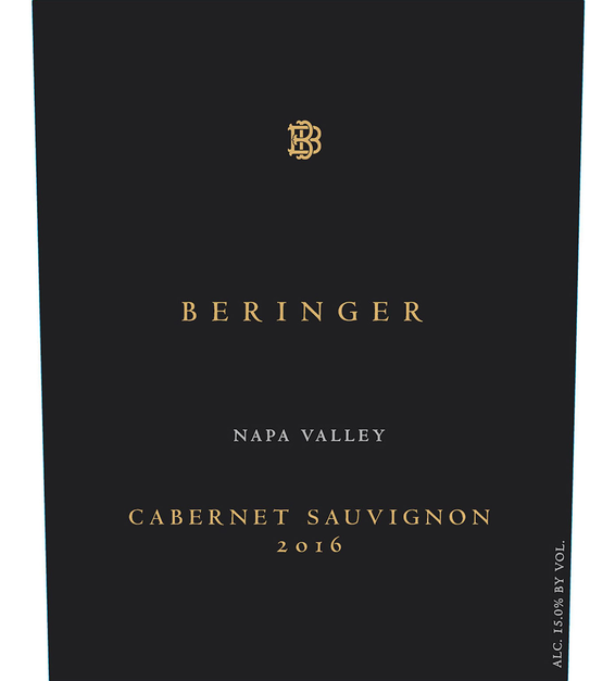 2016 Beringer Distinction Series Napa Valley Cabernet Sauvignon Front Label