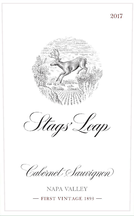 2017 Stags' Leap Cabernet Front Label